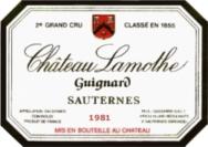 Sauternes 1981
