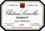 Sauternes 1986
