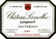 Sauternes 1989